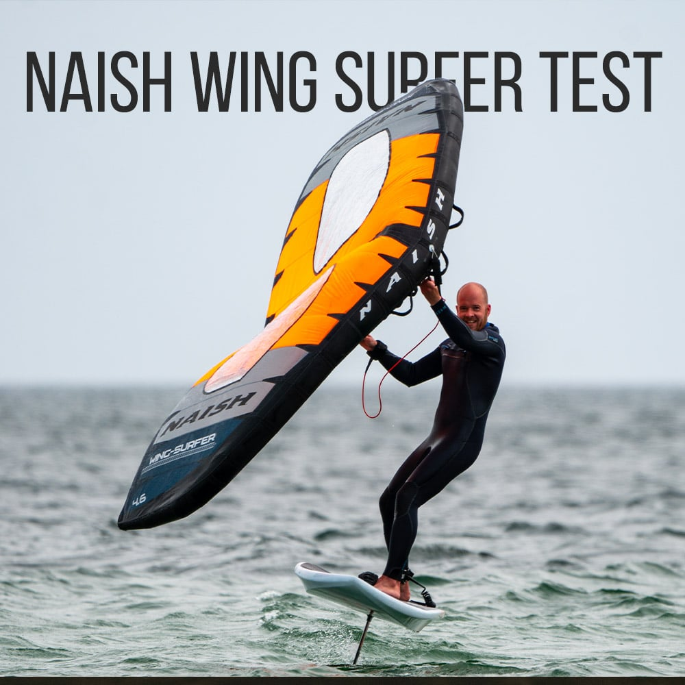 Naish S25 Wing Surfer Test