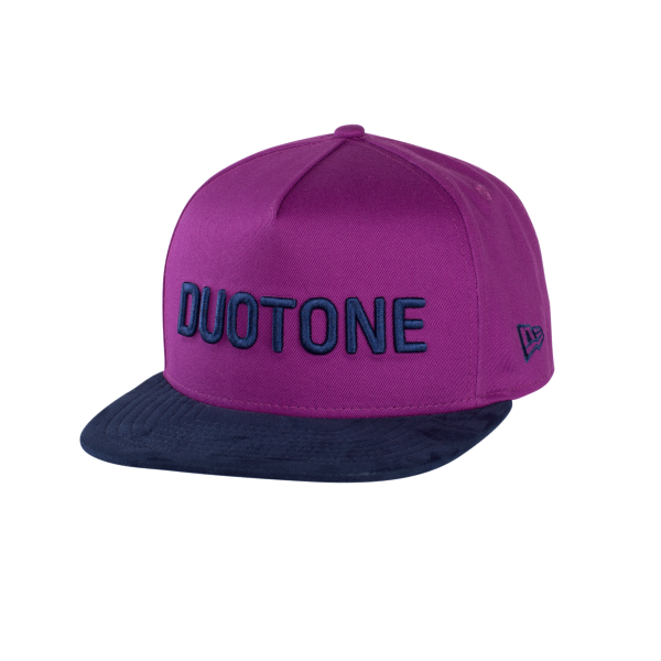Duotone New Era Cap Bold Purple - Vorne