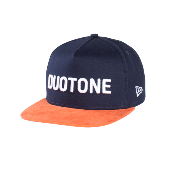 Duotone New Era Cap Bold Blue - Vorne