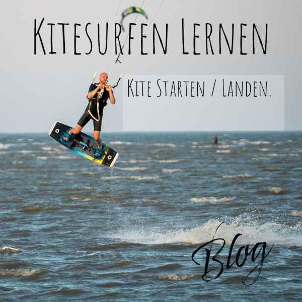 kitesurfen-lernen-Kite-Starten-Landen