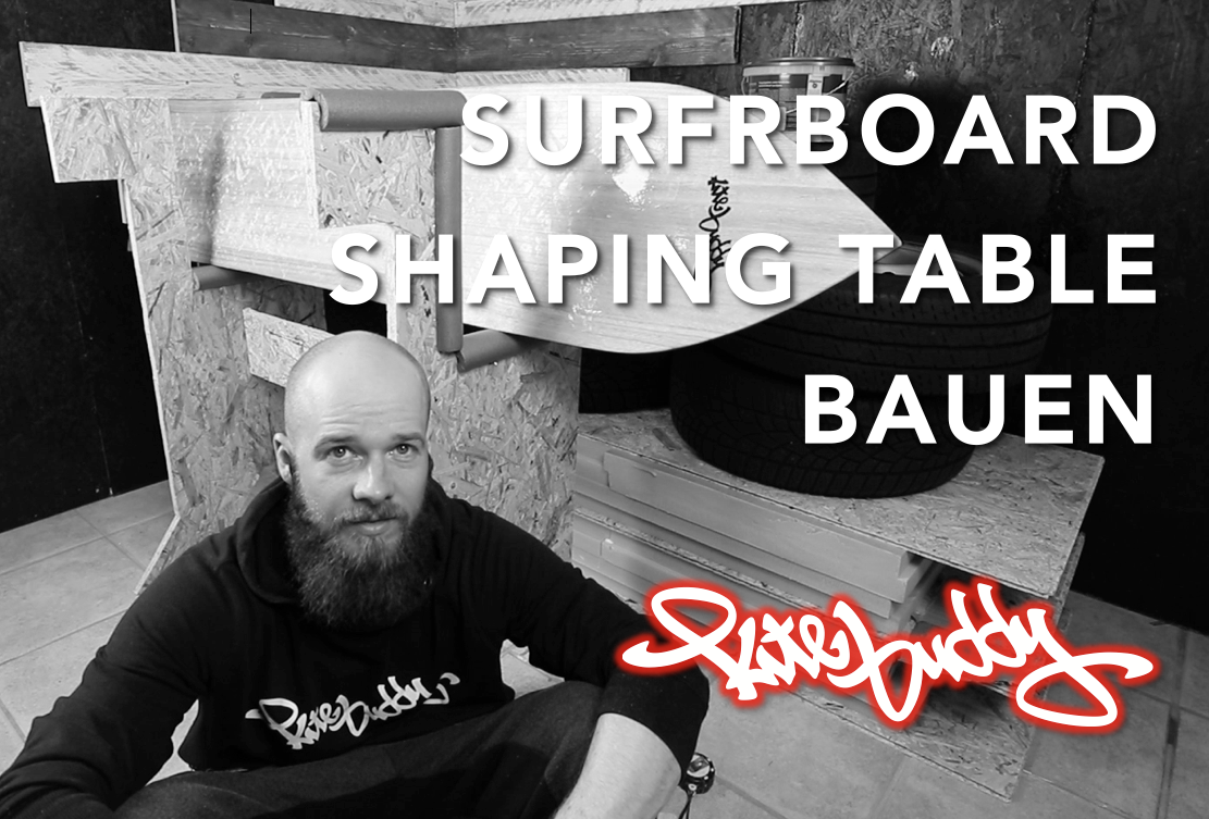 SURFBOARD SHAPING TABLE