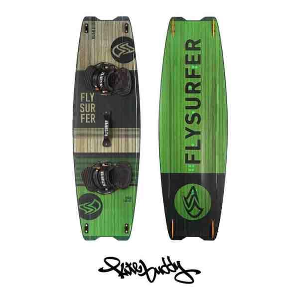 Flysurfer Rush in der Farbe grün - Größe 140
