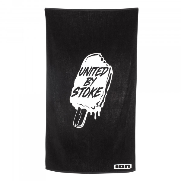 Ion Beach Towel in schwarz