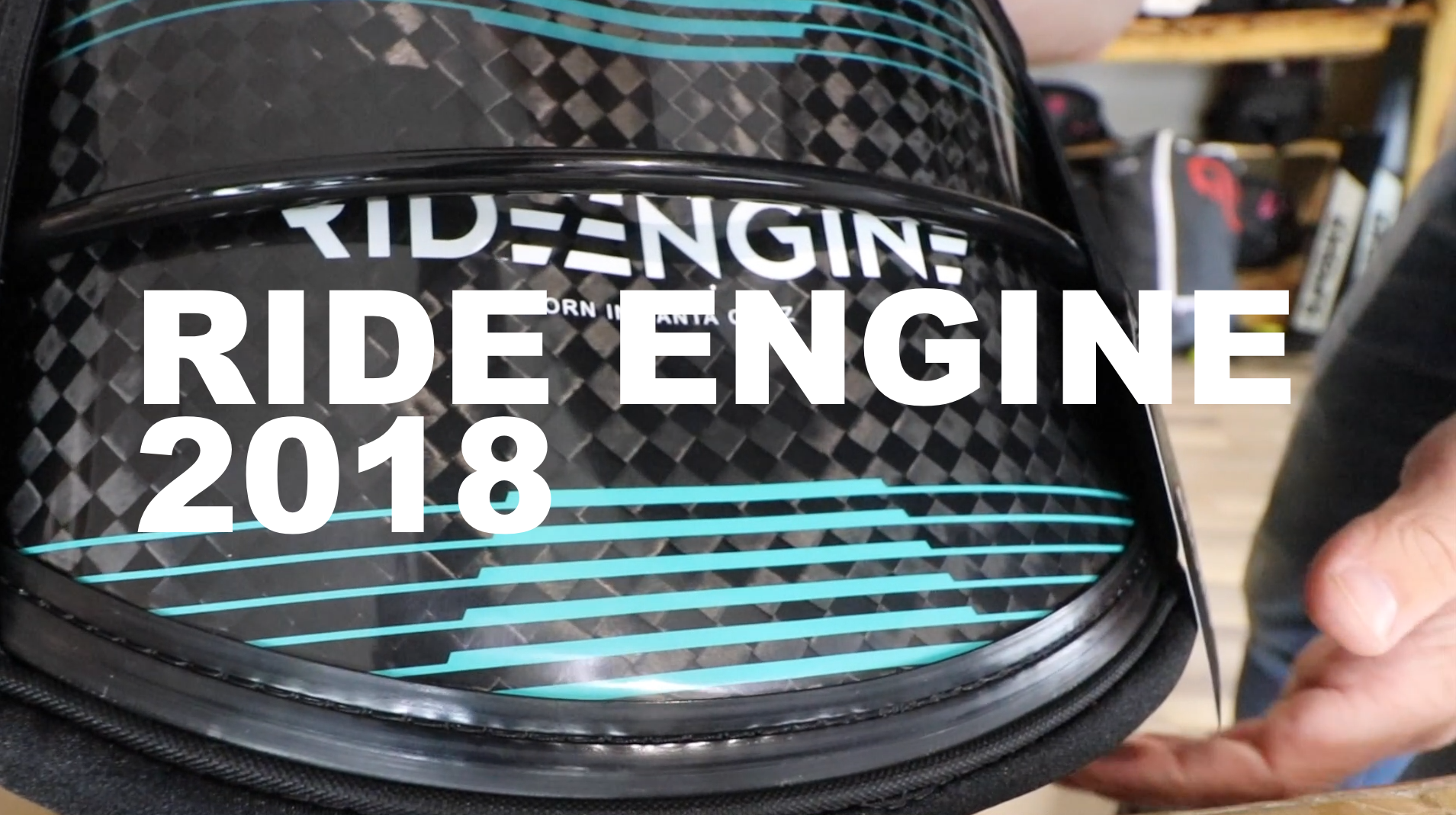 RIDE ENGINE 2018 UNBOXING