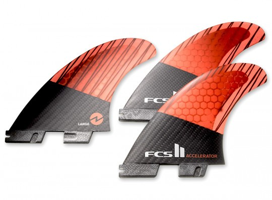 FCS II ACCELERATOR PC CARBON TRI SET