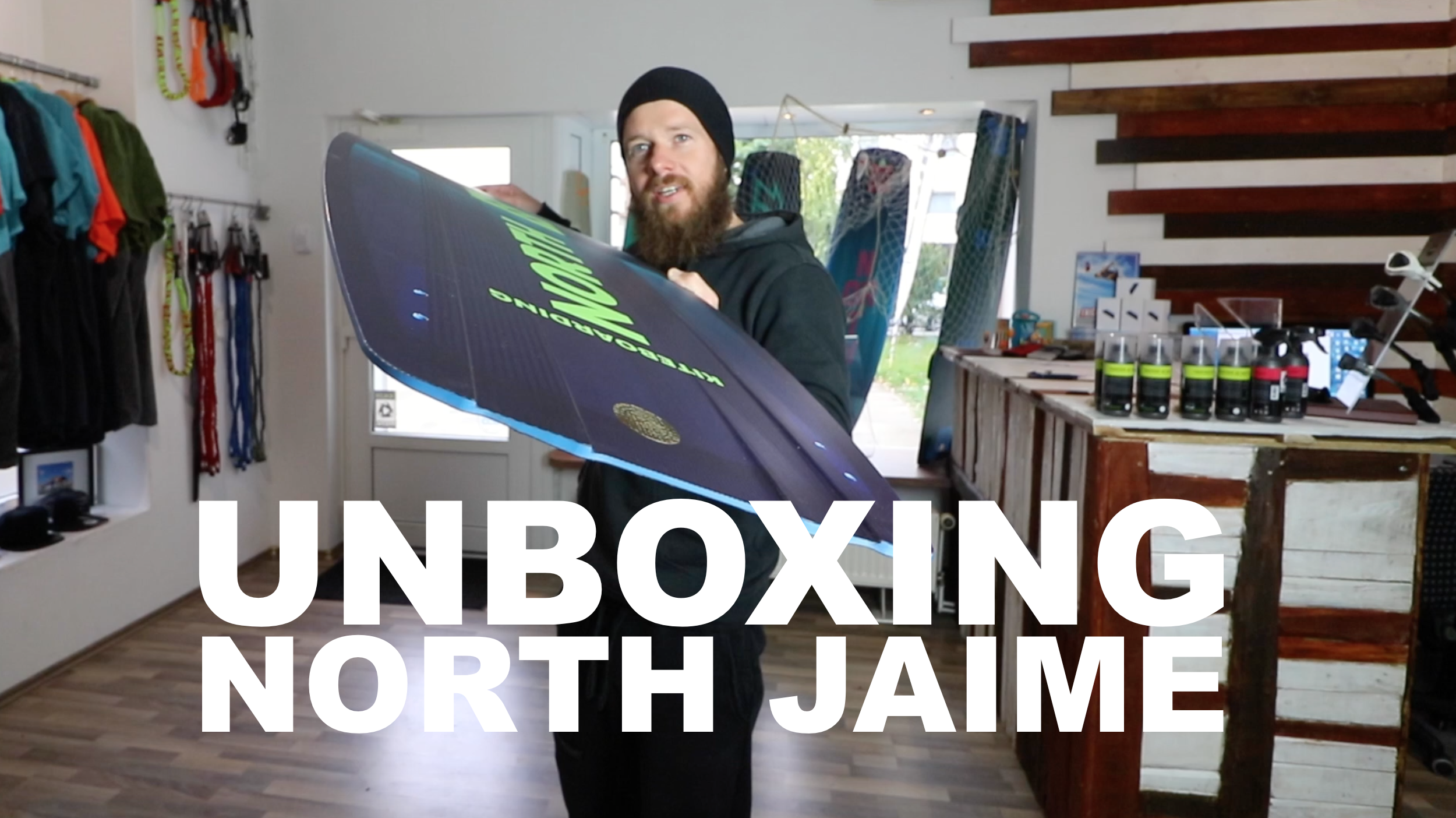 NORTH JAIME UNBOXING