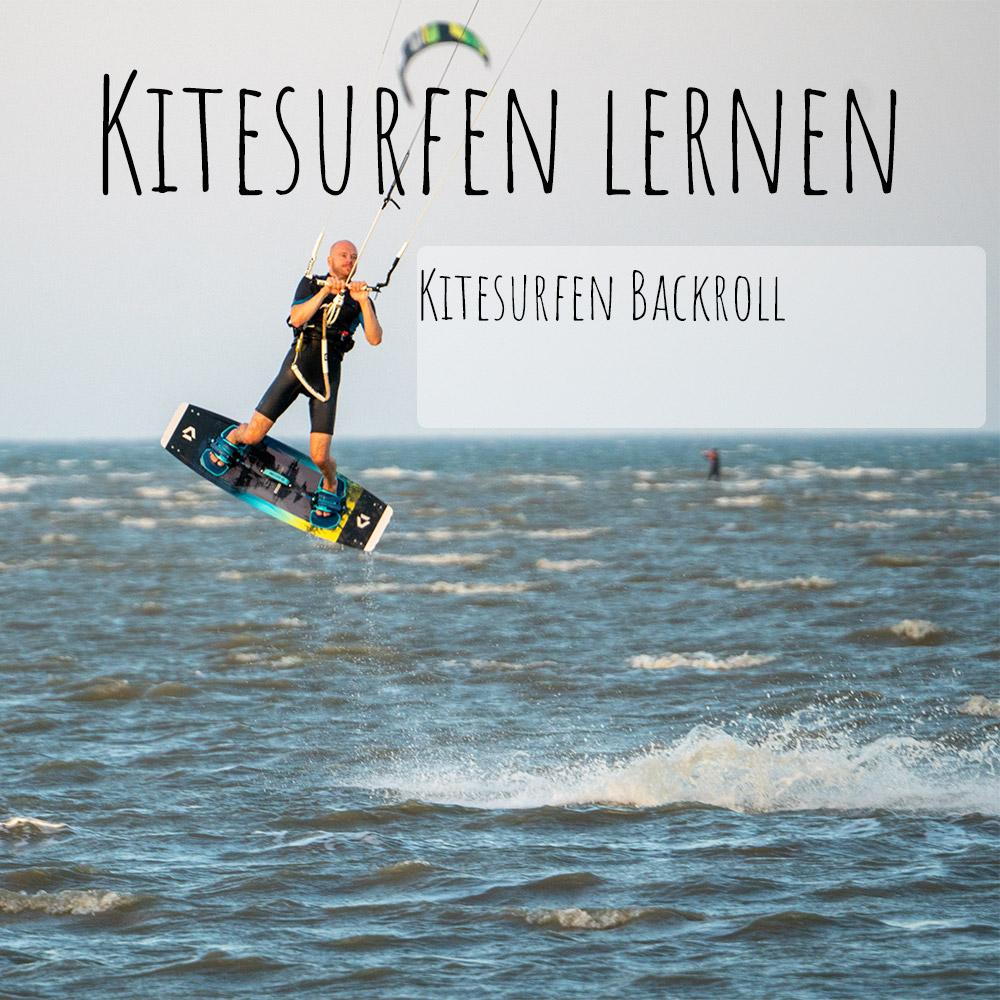 Kitesurfen Backroll