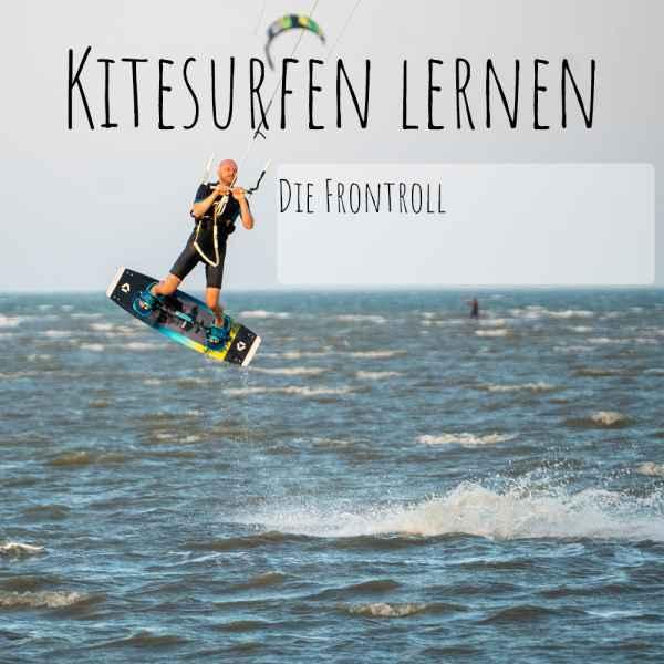Kitesurfen-Frontroll