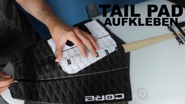 tail-pad-aufkleben