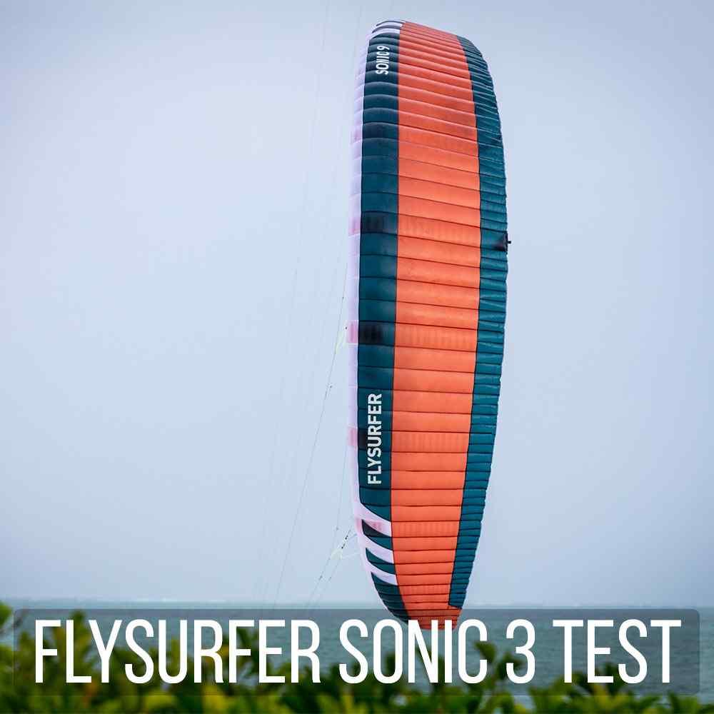 Flysurfer Sonic 3 Test