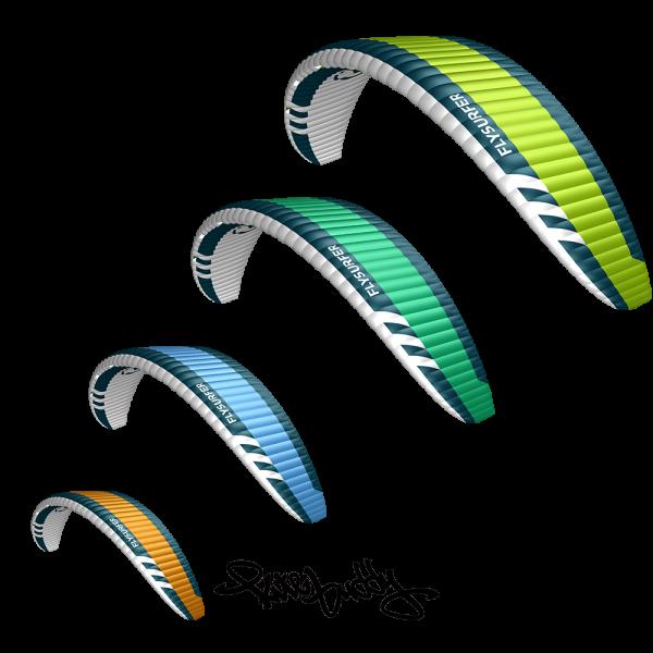 Flysurfer Sonic 3 - Jede Größe hat ihre eigene Farbe