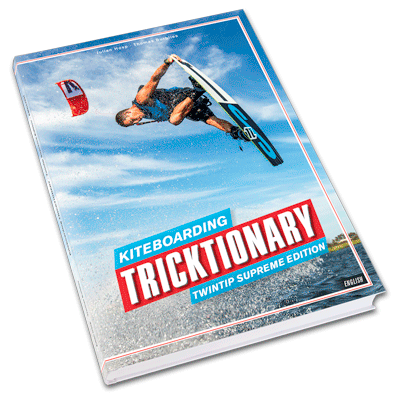 TRICKTIONARY KITESURF BUCH