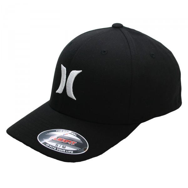 HURLEY CAP ONE&ONLY BLACK/WHITE